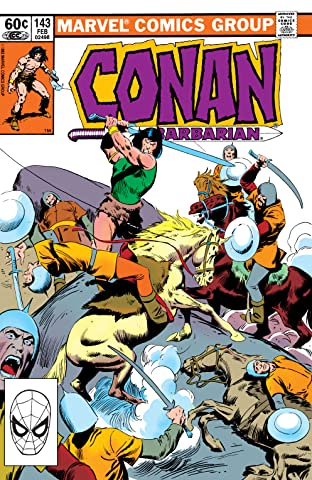 Conan The Barbarian (1970-1993) #143