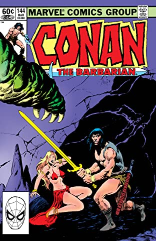 Conan The Barbarian (1970-1993) #144