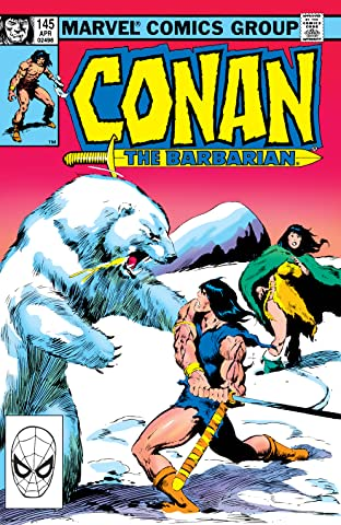 Conan The Barbarian (1970-1993) #145