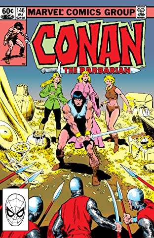 Conan The Barbarian (1970-1993) #146