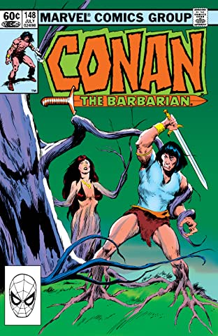 Conan The Barbarian (1970-1993) #148