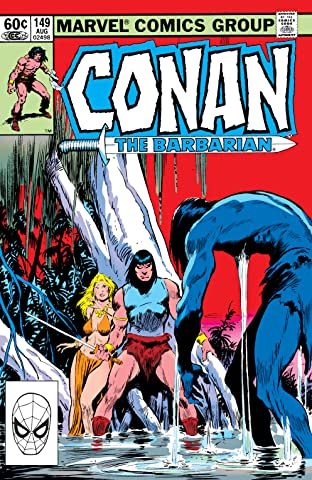Conan The Barbarian (1970-1993) #149