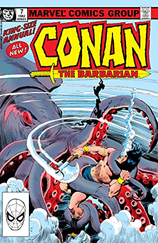 Conan The Barbarian (1970-1993) Annual #7