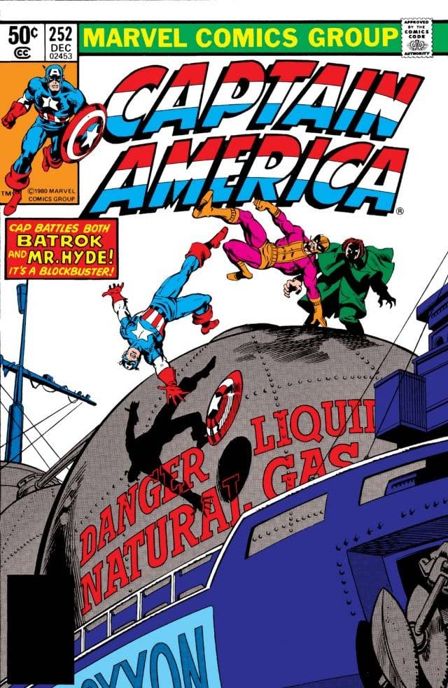 Captain America (1968-1996) #252