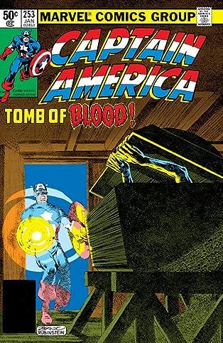Captain America (1968-1996) #253