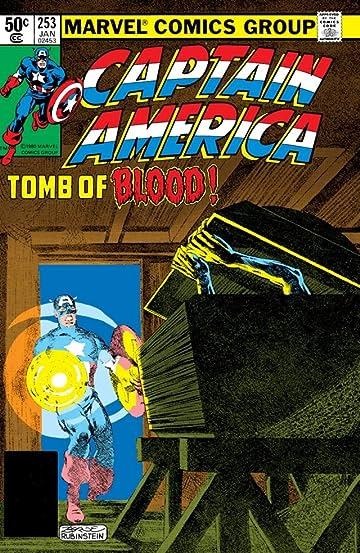 Resultado de imagem para Captain America (1968) n° 253