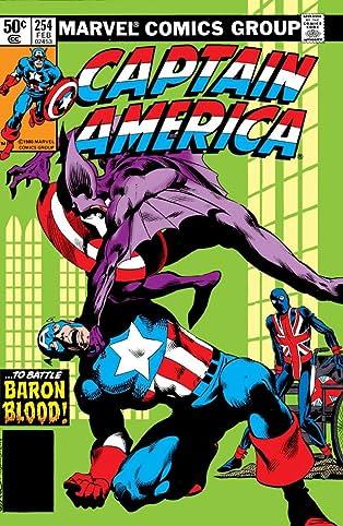 Captain America (1968-1996) #254