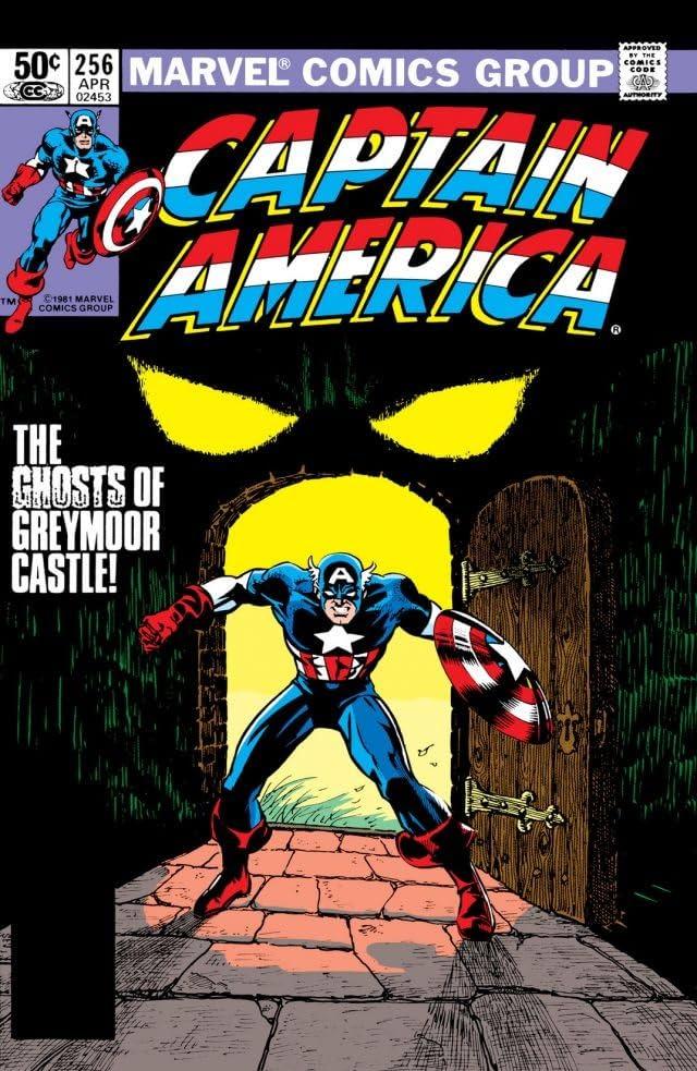 Captain America (1968-1996) #256