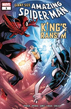 Giant Size Amazing Spider-Man: King's Ransom (2021) No.1