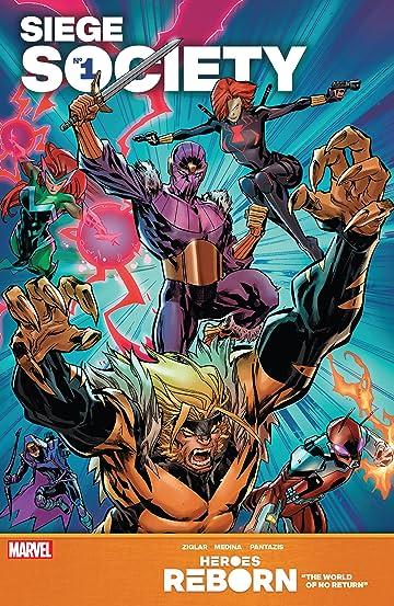 Heroes Reborn: Siege Society (2021) #1