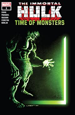 Immortal Hulk: Time Of Monsters (2021) #1: RON LIM VAR.