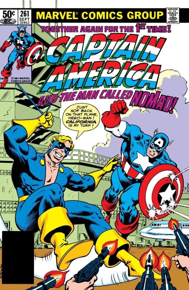 Captain America (1968-1996) #261