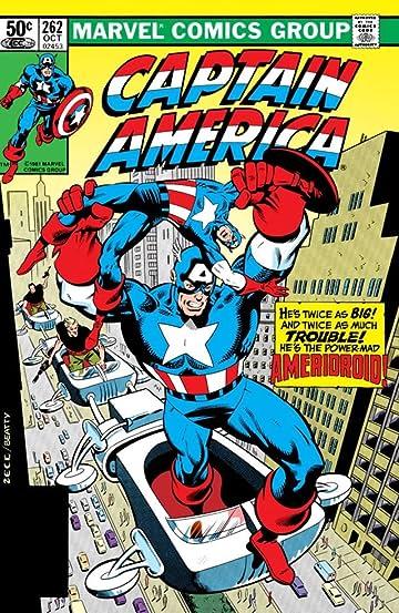 Captain America (1968-1996) #262
