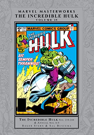 Incredible Hulk Masterworks Tome 15
