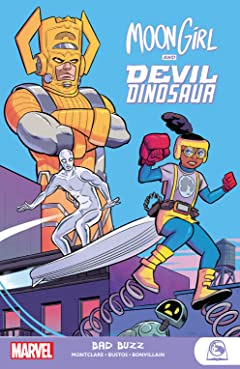 Moon Girl And Devil Dinosaur: Bad Buzz