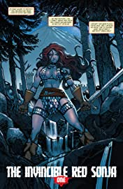 The Invincible Red Sonja No.1