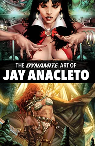 Dynamite Art of Jay Anacleto