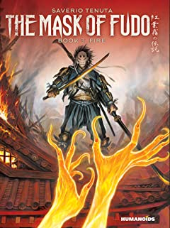 The Mask of Fudo Tome 3: Fire