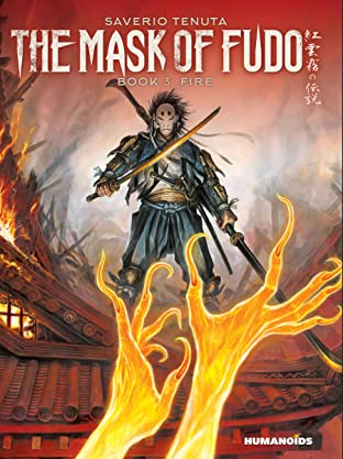 The Mask of Fudo Vol. 3: Fire