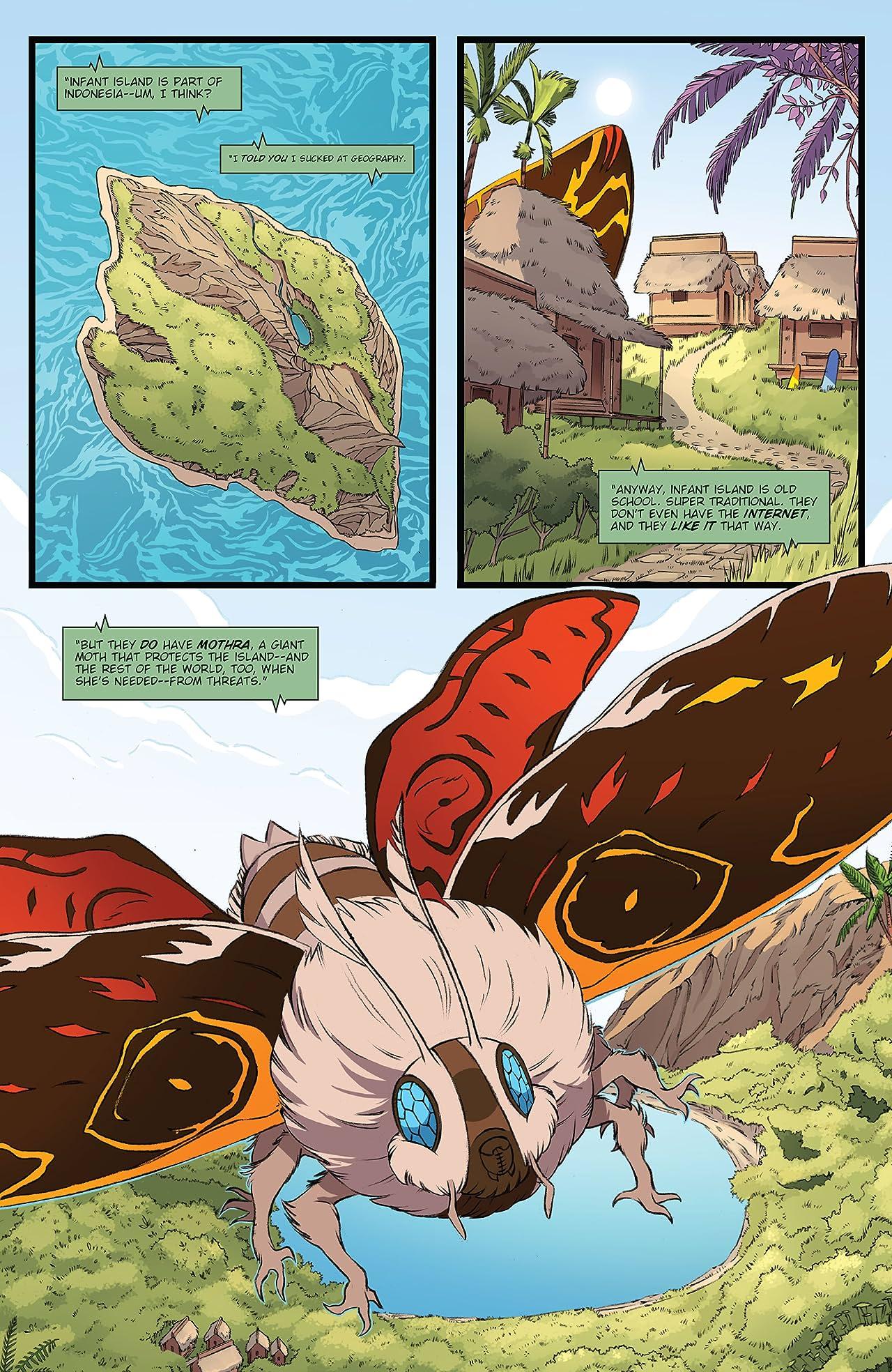 Godzilla: Monsters & Protectors #2