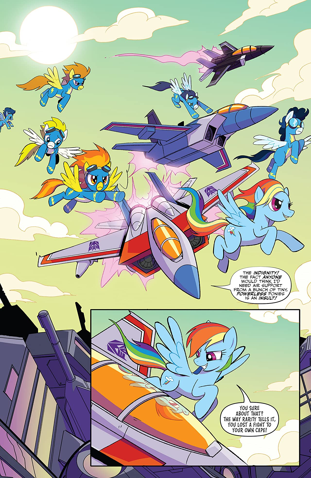 My Little Pony/Transformers II #2 (of 4)