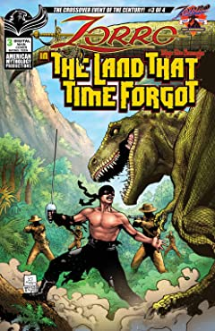 Zorro in the Land That Time Forgot #3