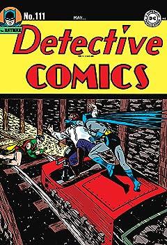 Detective Comics (1937-2011) No.111