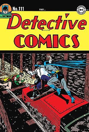 Detective Comics (1937-2011) #111