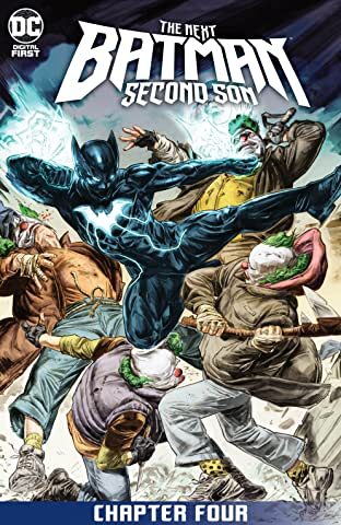 The Next Batman: Second Son (2021-) #4