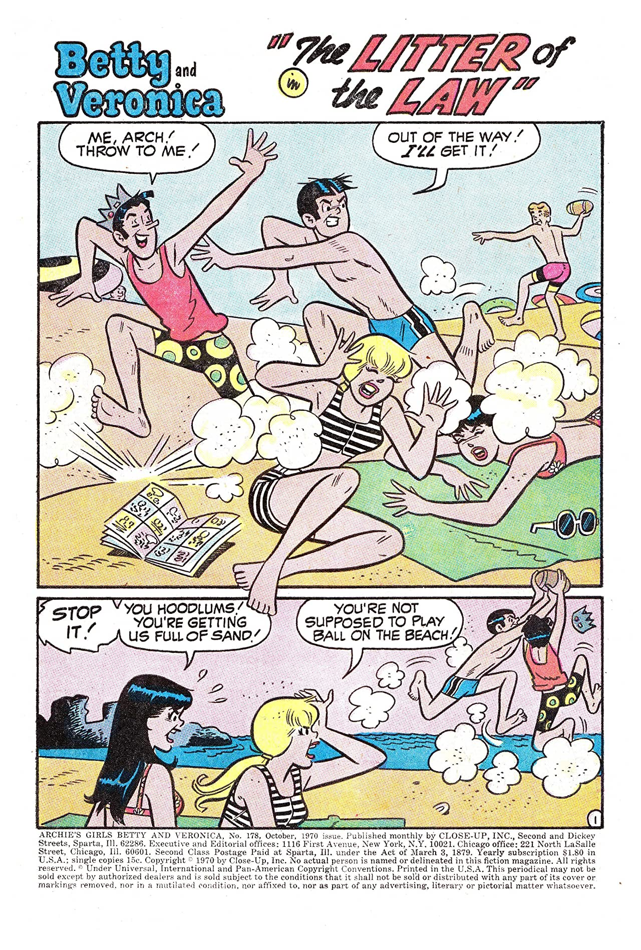 Archie's Girls Betty & Veronica #178
