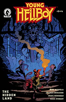 Young Hellboy: The Hidden Land #3