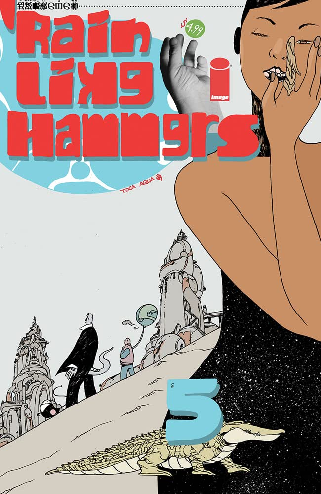 Rain Like Hammers #5 (of 5)