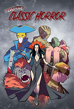 TIdalWave Classic Horror Comics