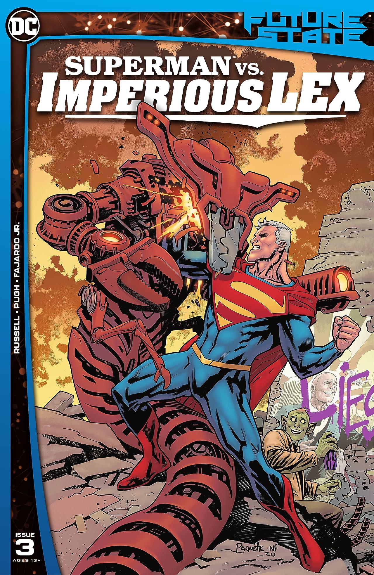 Future State (2021-) #3: Superman vs. Imperious Lex