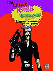 "!""Sgt. Rambo RAGE Undercover COP"" Vol. 18: Renegade SLASHER Outlaw Comics"