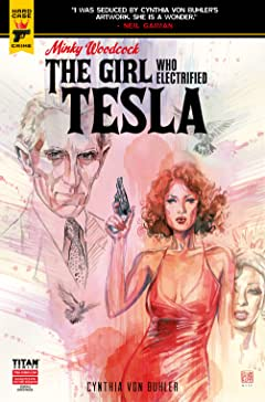 Minky Woodcock #2.3: The Girl Who Electrified Tesla