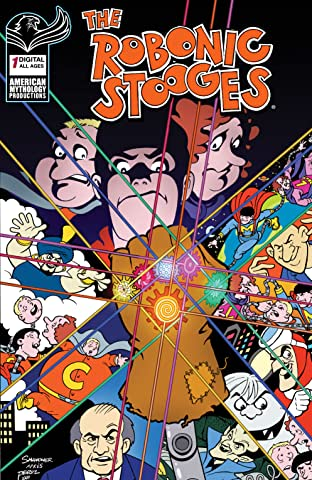 Robonic Stooges #1: The Imbicile Gauntlet