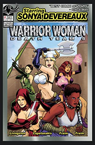 Starring Sonya Devereaux Warrior Women Death Team 5