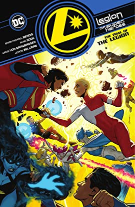 Legion of Super-Heroes (2019-) Vol. 2: The Trial of the Legion