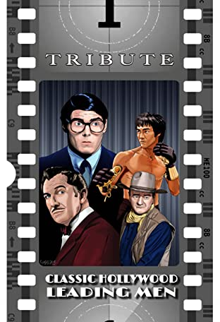 Tribute: Classic Hollywood Leading Men: John Wayne, Christopher Reeve, Bruce Lee and Vincent Price