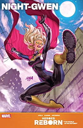 Heroes Reborn: Night-Gwen #1