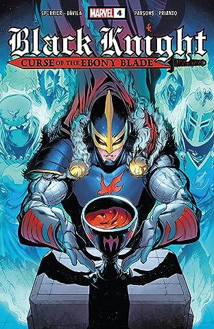 Black Knight: Curse Of The Ebony Blade (2021) No.4 (sur 5)