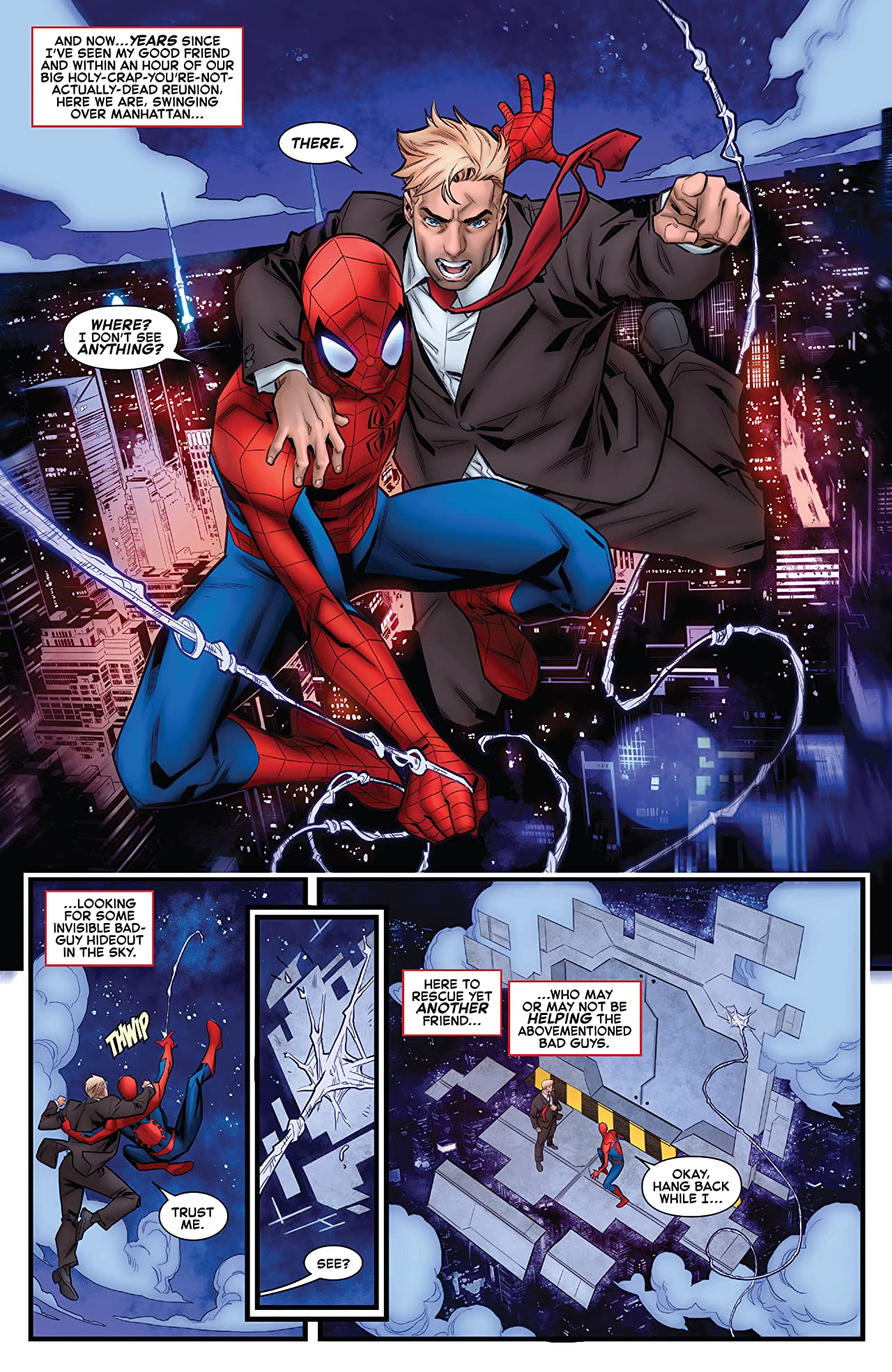 Giant-Size Amazing Spider-Man: Chameleon Conspiracy (2021) #1