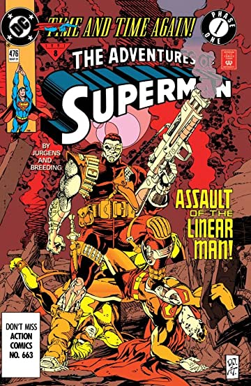 Adventures of Superman (1986-2006) #476