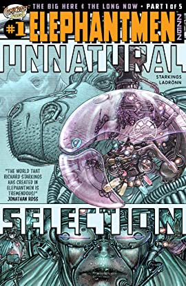 Elephantmen 2262: Hip Flask #1: Unnatural Selection