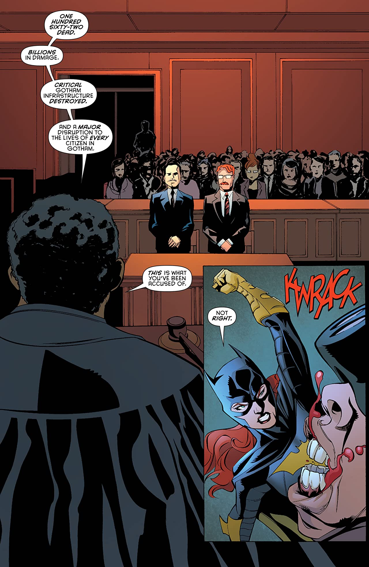 Batman Eternal (2014-2015) #4