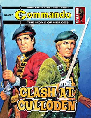 Commando No.5427: Clash At Culloden