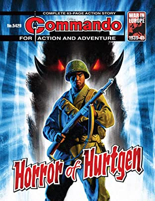 Commando No.5429: Horror Of Hurtgen
