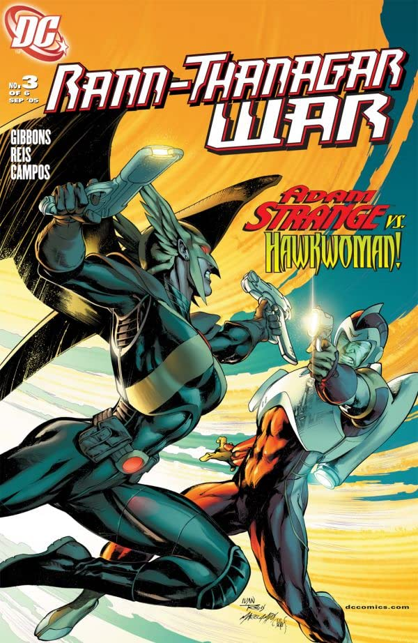 Rann/Thanagar War #3