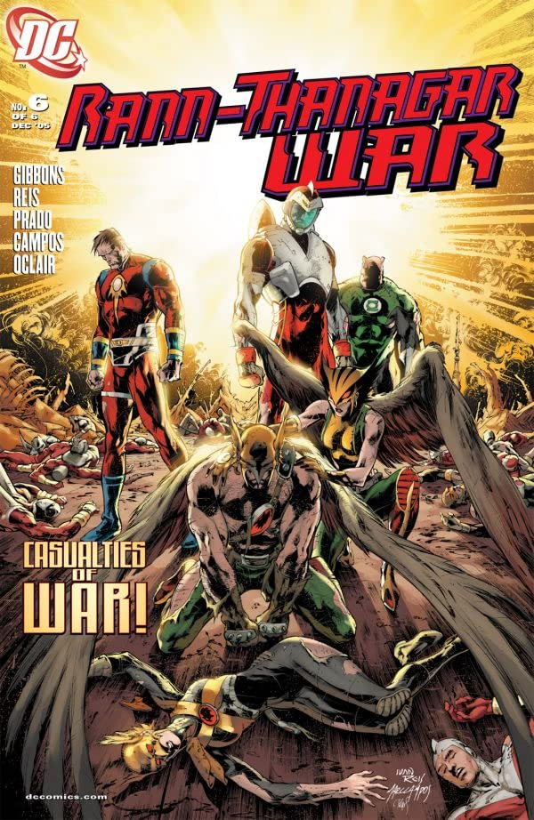 Rann/Thanagar War #6 (of 6)